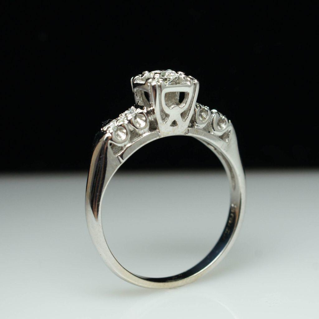 vintage wedding rings los angeles rustic navokal