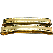 Vintage 10k Yellow Gold Lingerie Clips