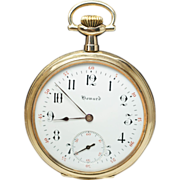 Antique Gold Filled E. Howard Pocket Watch - Appraisal Included