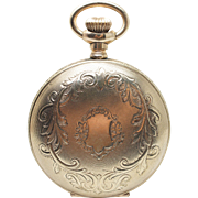 Vintage Elgin 1910 Yellow Gold Filled Pocket Watch