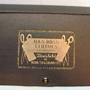 Vintage Dan Ross Men's Clothing Display