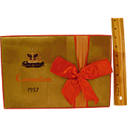 Vintage 1937 Coronation Box