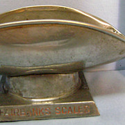 Vintage Fairbanks Scales Paperweight