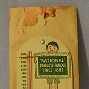 Vintage EN-AR-CO Motor Oil Thermometer