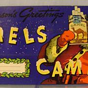 Vintage Camel Cigarette Christmas Sleeve