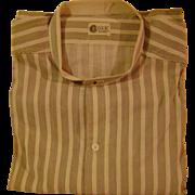 Vintage Man's Dress Golf Shirt