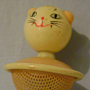 Vintage Celluloid Childs Rattle