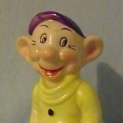 Vintage Dopey Toothbrush Holder