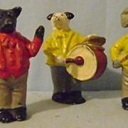 Vintage Three Pc Animal Band
