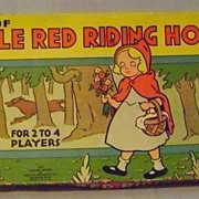 Vintage Red Riding Hood Game