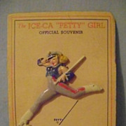 Vintage 1944 Petty Ice Capades Pin