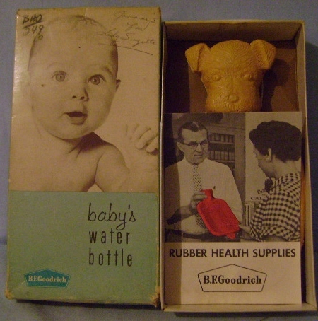 "Vintage Scottie  Baby""s Hot Water Bottle"