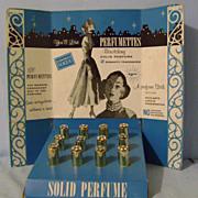 Vintage Perfumettes Display