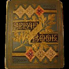 Vintage Album of Trade Cards and Scraps