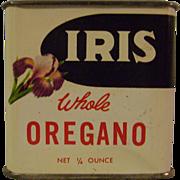 Vintage Iris Spice Tin