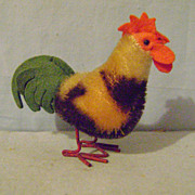 Vintage Small Steiff Rooster