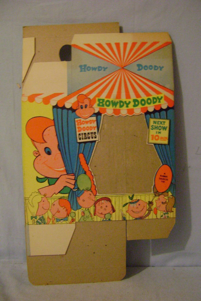 Vintage Howdy Doody Circus Box