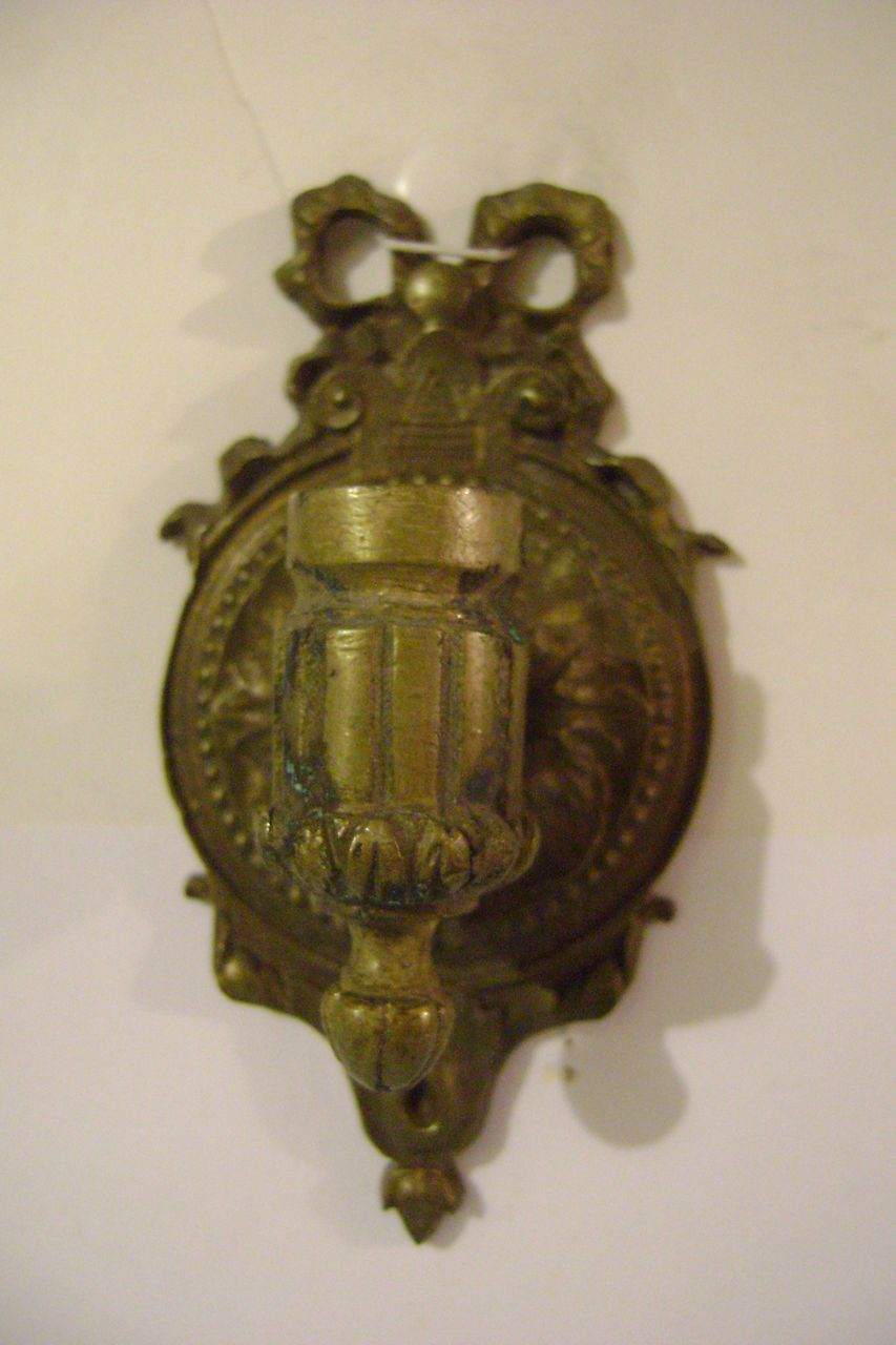Vintage Sample or Dollhouse Wall Sconce