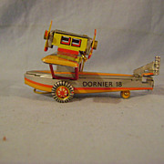 German Tin Dornier Airplane