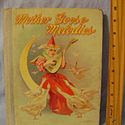 Vintage Mother Goose Melodies Book