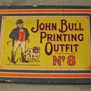 Vintage John Bull Boxed Printing Set