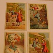 Vintage Set Acme Soap Trading Cards