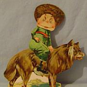 Vintage Brownie Lions Coffee Trade Card