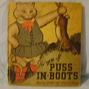 Vintage Puss In Boots Pop Up Book