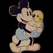 Vintage 1936 Mickey Moose Easter Card