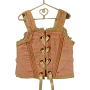 Vintage Doll's Bustier