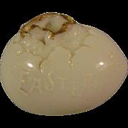 Vintage Milkglass Easter Egg