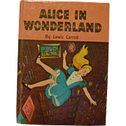 Vintage Alice in Wonderland Whitman Classic Book