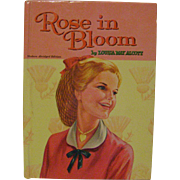 Vintage Whitman Classic Book 'Rose in Bloom'
