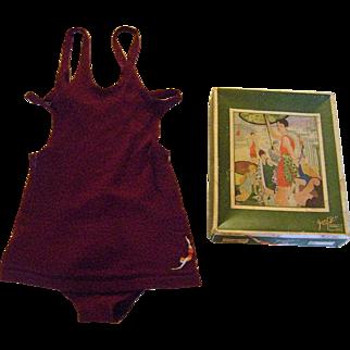 Vintage 1930s Jantzen Wool Swim Suit