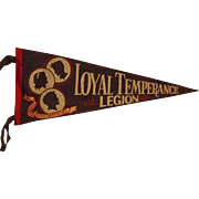 Loyal Temperance Legion Pennant