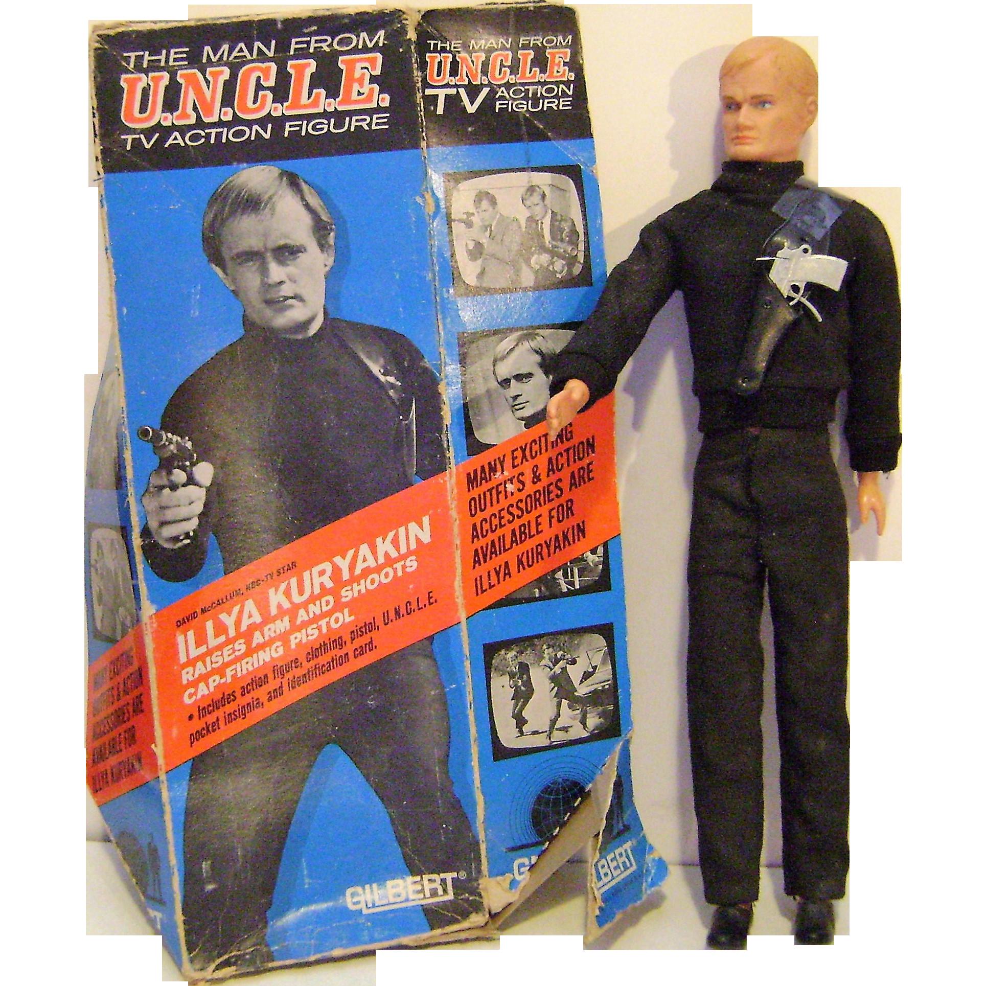 Vintage Man From U.N.C.L.E. Gilbert Doll
