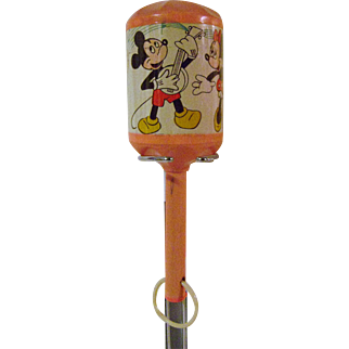 Vintage Mickey Mouse Musical Rattle