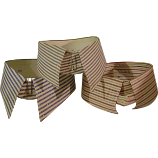 Vintage Multi-colored Soft and Stiff Collars