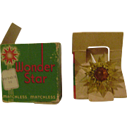 Vintage Wonder Star Matchless Christmas Tree Light