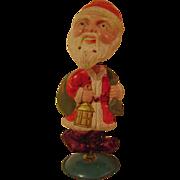 Vintage Rocking Head Santa