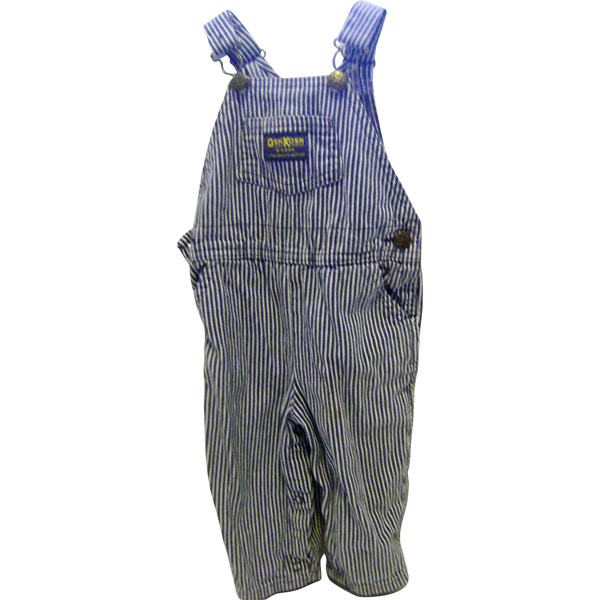Small OshKosh Stripped Overalls