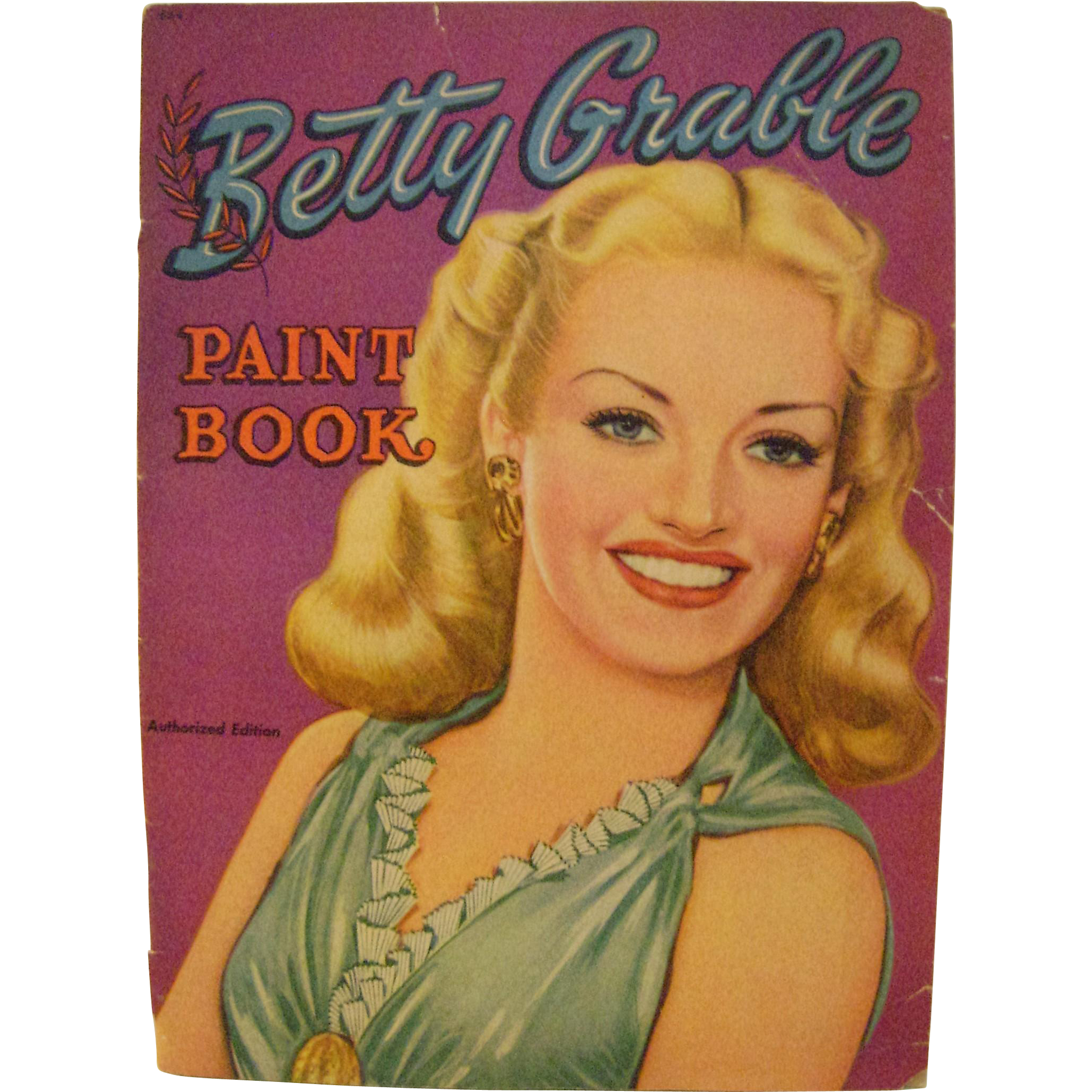 vintage betty grable paint book from paulannturner on ruby lane. Black Bedroom Furniture Sets. Home Design Ideas
