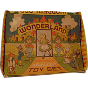Vintage Wonderland Toy Coffee Set