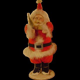 Vintage 10 Inch Santa