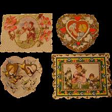 4 Vintage Valentines