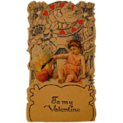Vintage Fold Out Valentine