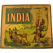 Milton Bradley 'Game of India'