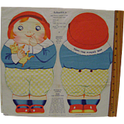 Tom Tom the Piper's Son Uncut Muslin Doll