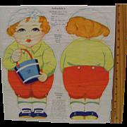 Arbuckle's Jack Muslin Uncut Doll