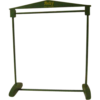 Vintage Patsy Wood Clothes Rack